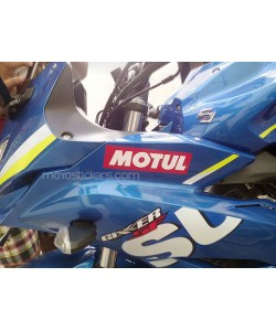 Motul logo stickers for suzuki gixxer sf