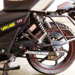 Bridgestone logo stickers / decal for bikes and cars.