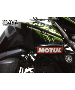 Motul logo sticker on Yamaha FZ-S v2