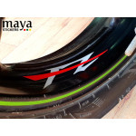 Yamaha FZ logo bike sticker decal Dual color