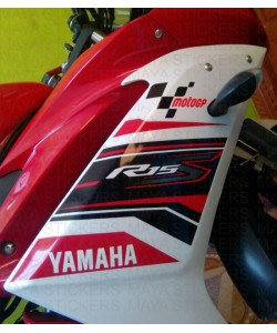 Moto GP logo stickers for Yamaha R15