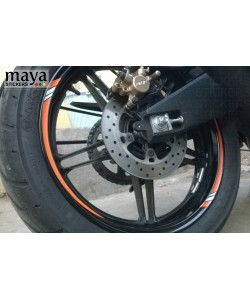 Yamaha R15 wheel rim sticker