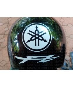 Yamaha FZ logo stickers for helmet