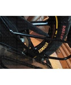 Yamaha logo sticker for wheel rim