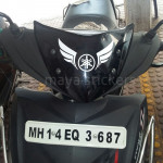 yamaha tribal logo and yamaha wings vinyl decal sticker for yamaha bikes / motorcycles