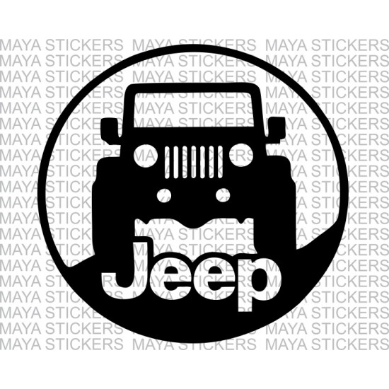 Jeep Stickers For Mahindra Thar Available In Custom