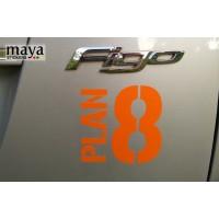 Ford Figo stickers gallery