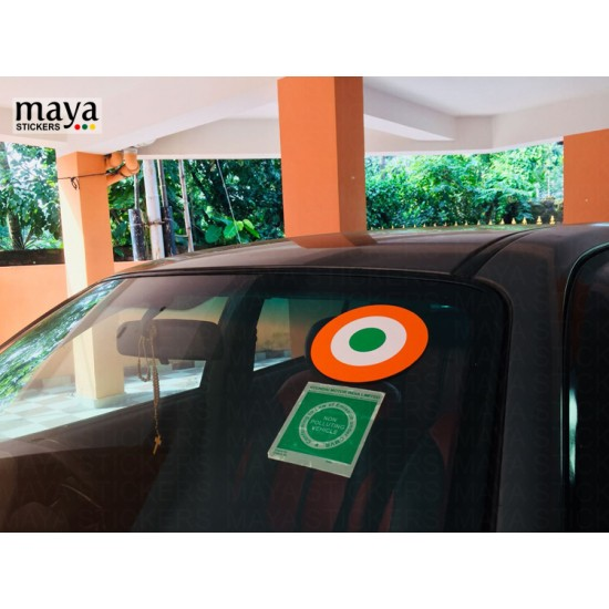 Indian Airforce Sticker For Cars Bikes And Laptop Available