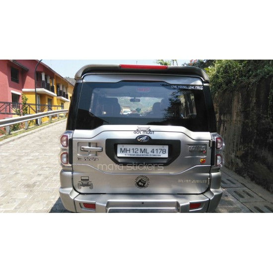 Jeep Silhouette Decal Sticker Buy Online In India
