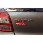 Motul logo sticker for bikes and cars