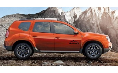 Renault Duster Stickers