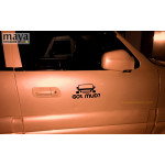 Got Mud? sticker for Jeep and offroad SUVs