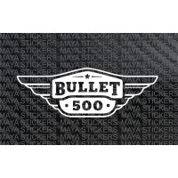 Royal Enfield Bullet 500 logo stickers for Toolbox and Fuel tank