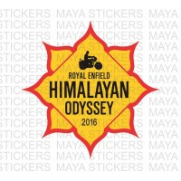 Himalayan Odyssey stickers for Royal Enfield