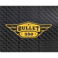 Royal enfield bullet 350 toolbox sticker