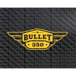Royal enfield bullet 350 toolbox sticker  (Pair of 2 Stickers)