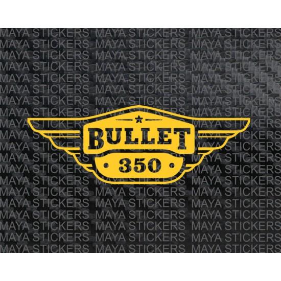 Royal Enfield Bullet 350 Tool Box Logo Sticker