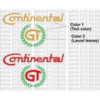 Royal enfield continental GT logo stickers (Dual color)
