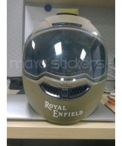 Royal enfield logo stickers for helmets
