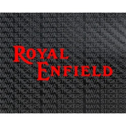 Royal Enfield old logo stickers for old model bullets ( Pair of 2 stickers )