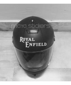 Old royal enfiled logo sticker for helmets