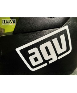AGV racing style sticker for helmets