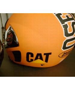 Cat - Caterpillar logo sticker for Helmets