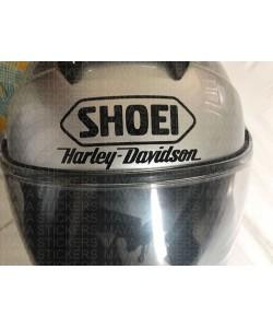 Harley davidson logo sticker for shoei helmet