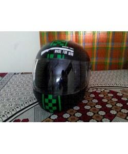 Made for war custom royal enfield stickering for helmet