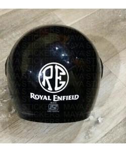 RE Logo sticker for Helmets