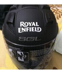 Royal enfield logo stickers for helmet