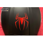 Spider logo sticker sticker from Spiderman movie