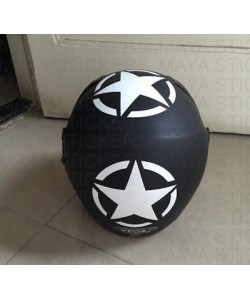 Star stickers for Helmet