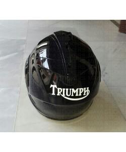 Triumph old logo sticker for helmet