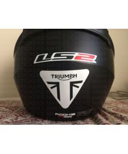 Triumph logo stickers for helmets