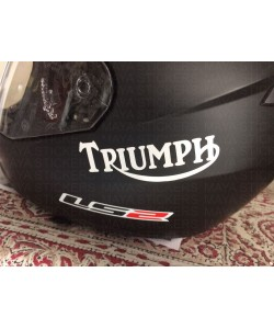 Triumph logo stickers for helmet