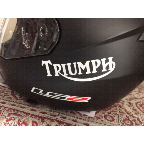 Triumph Motorcycles Old Logo Stickers Decals Pair Of 2