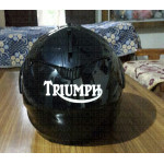 Triumph old logo stickers. Custom colors and sizes
