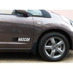 Nascar logo sticker for all car models