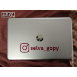 Instagram Username / Handle custom stickers in custom colors and sizes