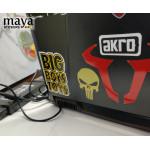 Punisher skull sticker decal for bikes, cars, laptop