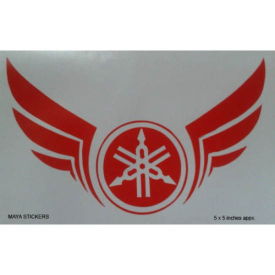 Yamaha tribal logo and yamaha wings vinyl decal sticker for yamaha bikes motorcycles