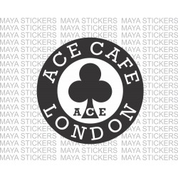 Ace cafe london logo stickers for Cafe Racers, bikes, cars, laptop