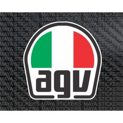 AGV Helmet logo Sticker motorcycles
