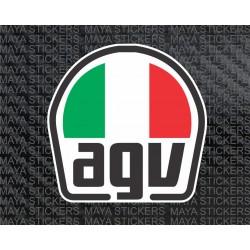 AGV Helmet logo Sticker