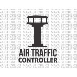 Air traffic controller logo stickers / decals for cars, bikes, laptop
