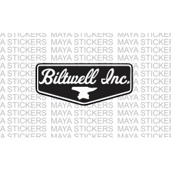 Biltwell inc logo sticker / decal for Bikes, helmets, cars
