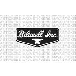 Biltwell inc logo sticker / decal for Bikes, helmets, cars