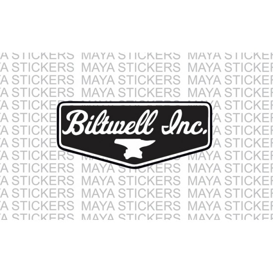 Biltwell Inc Logo Sticker Decal For Bikes Helmets Cars