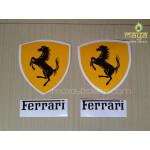 Ferrari logo stickers for Bikes, cars, laptops